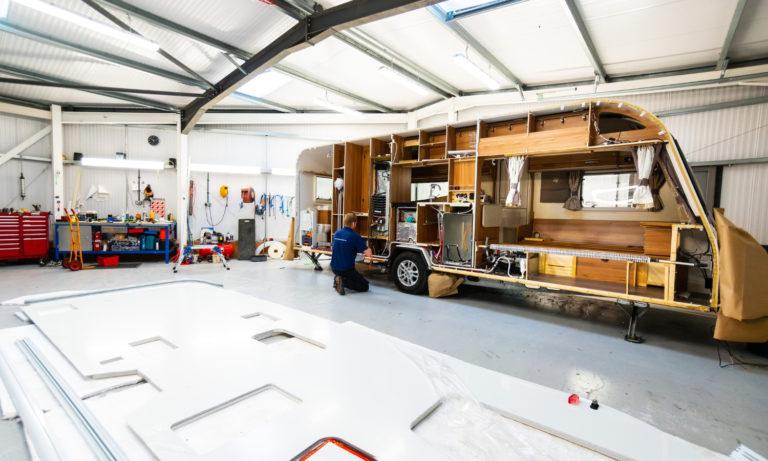 5 Main Types of Caravan Fiberglass Repairs