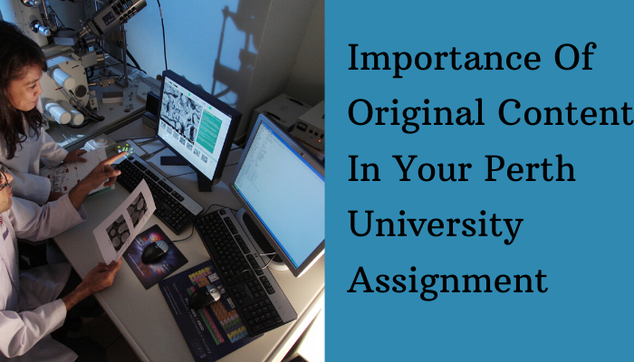 Importance Of Original Content In Your Perth University Assignment