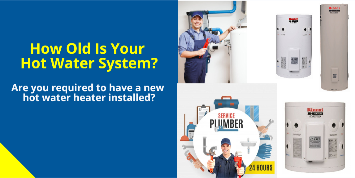 What Signs Will Reveal Your Hot Water System Is Nearing Its Service Life?