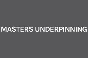 Masters Underpinning