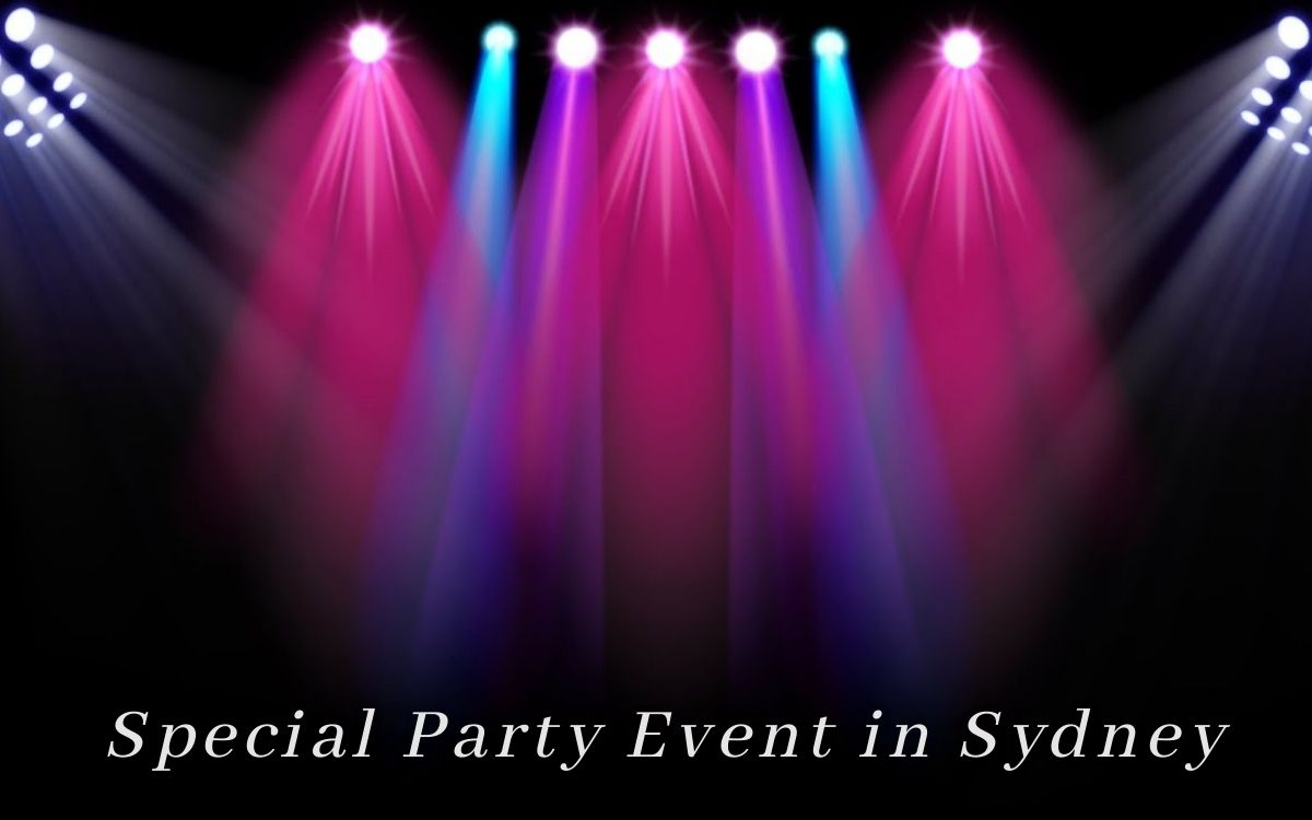 Hire the Best equipment from CR Lighting & Audio for your special Party Event in Sydney